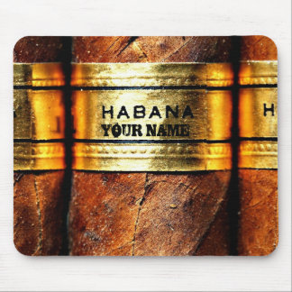 Charutos cubanos personalizados Habana Mousepad