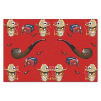 Charutos decorativos do mancave do lenço de papel