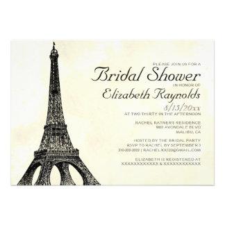 Chás de panela antigos da torre Eiffel