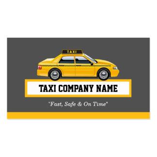 Chauffeur licenciado do motorista do boné - táxi cartão de visita