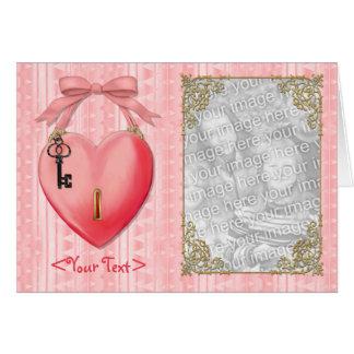 Chave a meu cartão do coração