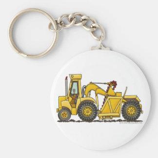 Chave Chai da construção da máquina escavadora do  Chaveiro