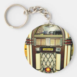 Chave-corrente da imagem do jukebox chaveiro