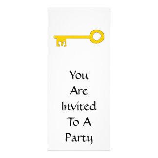 Chave do ouro no branco convites