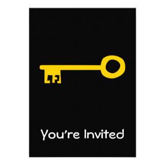 Chave do ouro no preto convite