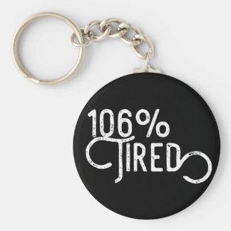 Chaveiro 106% cansado