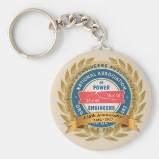 Chaveiro 135th Corrente chave do aniversário