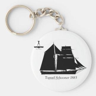 Chaveiro 1883 escuna do topsail - fernandes tony
