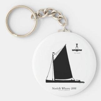 Chaveiro 1898 balsa de Norfolk - fernandes tony
