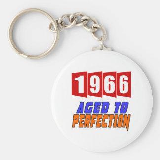 Chaveiro 1966 envelhecido à perfeição