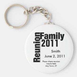 Chaveiro 2011 do souviner da reunião de família
