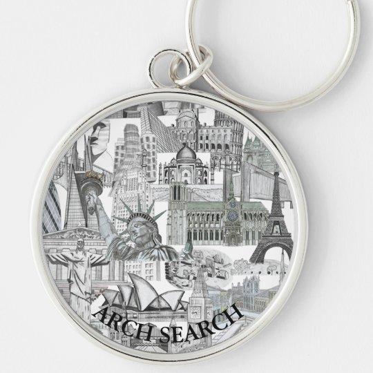 Chaveiro 5,4cm Mural Arch Search