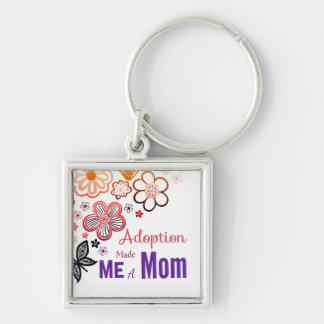 Chaveiro A adopção fez-me uma mamã