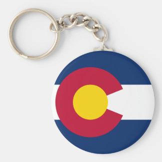 Chaveiro A bandeira de Colorado
