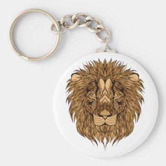 Chaveiro A cabeça do leão