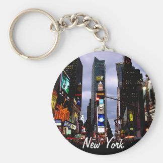 Chaveiro A cidade do Times Square da corrente chave de New