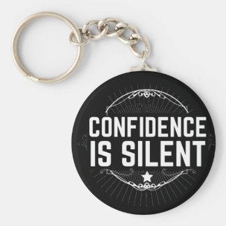 Chaveiro a confiança é silenciosa