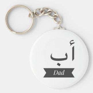 Chaveiro A corrente chave conhecida árabe carda a caneca