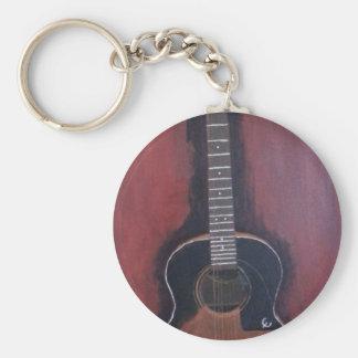 Chaveiro A guitarra de Ryan