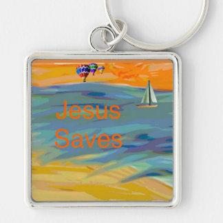Chaveiro A igreja cura Jesus da esperança salvar a corrente