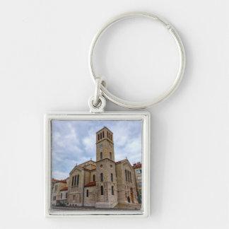 Chaveiro A igreja de St Joseph em Sarajevo. Bósnia e Herz