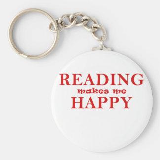 Chaveiro A leitura faz-me feliz