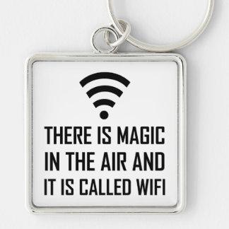 Chaveiro A mágica no ar é Wifi