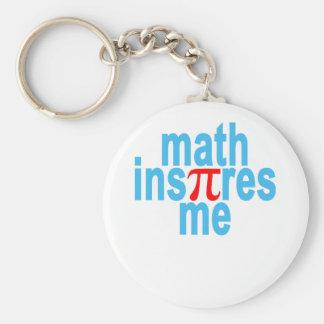 """Chaveiro A matemática inspira-me """"."""