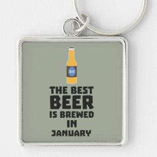 Chaveiro A melhor cerveja é em janeiro Zxe8k fabricado