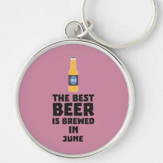 Chaveiro A melhor cerveja é em junho Z1u77 fabricado