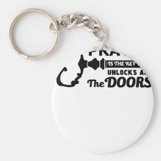 Chaveiro A oração é a chave a todas as portas