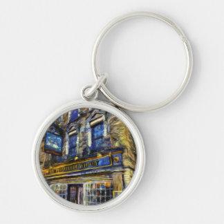 Chaveiro A perspectiva do bar Van Gogh de Whitby