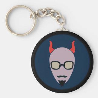 Chaveiro A satã é um hipster
