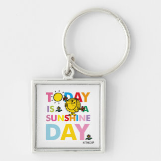 Chaveiro A senhorita pequena Luz do sol | é hoje um dia da