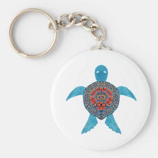 Chaveiro A tartaruga de mar tribal