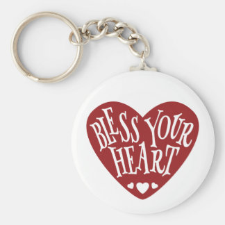 Chaveiro Abençoe seu coração no coração