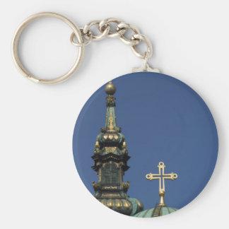 Chaveiro Abóbadas ortodoxos da igreja cristã
