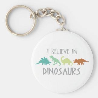Chaveiro Acredite nos dinossauros