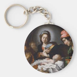 Chaveiro Adoração dos pastores do século XVII
