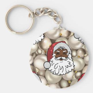 Chaveiro africano Papai Noel