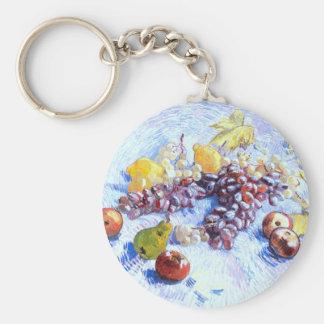 Chaveiro Ainda vida com maçãs, peras, uvas - Van Gogh