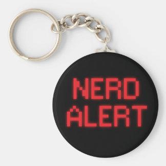 Chaveiro Alerta do nerd