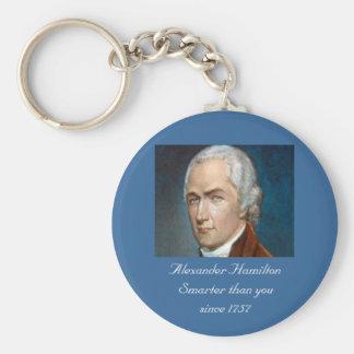 Chaveiro Alexander Hamilton mais esperto do que você