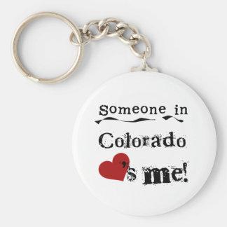 Chaveiro Alguém em Colorado ama-me