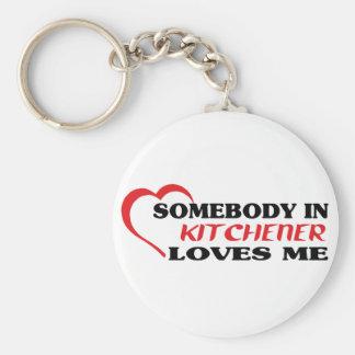 Chaveiro Alguém em Kitchener ama-me