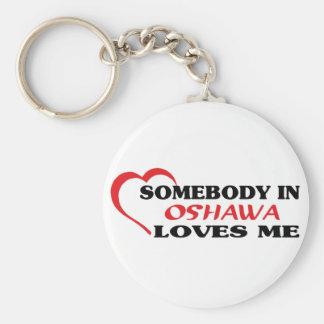 Chaveiro Alguém em Oshawa ama-me