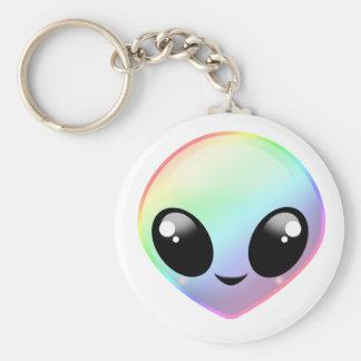 Chaveiro Alienígena do arco-íris de Chibi