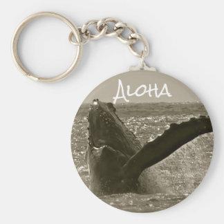 Chaveiro Aloha baleia