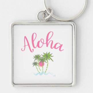 Chaveiro Aloha estilo havaiano Summera das praias