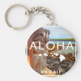 Chaveiro Aloha nenhuns 50 Tiki